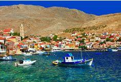 Halki island-Greece