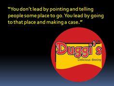 Duggi's quotations