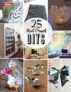 Popular DIY Project and Ideas on Pinterest | Family Style