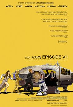 Awesome STAR WARS / LITTLE MISS SUNSHINE Mashup Poster