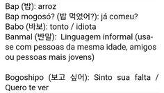 Build Your Brazilian Portuguese Vocabulary Korean Phrases, Korean Words, How To Speak Korean, Learn Korean, Learn Brazilian Portuguese, Portuguese Lessons, Korean Lessons, Portuguese Language, Learn A New Language