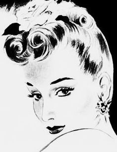 113 best hair to remember images short hairstyles hair down 1960s Girls Hairstyles how to create hairstyles instructions and illustrations for 17 swing era styles by ge e russell