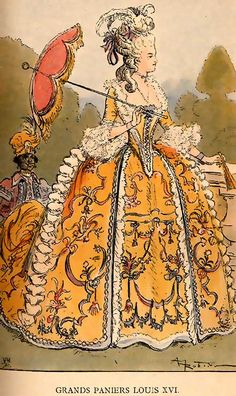 Period illustration; Louis XVI.