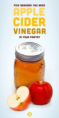 5 reasons you need apple cider vinegar in your pantry   The buzz around apple cider vinegar (aka ACV), the 'alpha-dog of home remedies' has gotten so loud lately that we, too, decided to give it a shot.