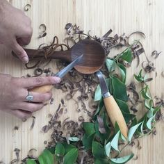 We're planning some upcoming courses at the storefront including this spoon making workshop taught by Durham maker @ask_the_trees. Stay tuned. #ModernPlantStyle #theZenSucculent