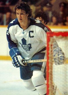 Darryl Sittler On Ice - Toronto Maple Leafs Ice Pictures, Hockey Pictures, Penguins Players, Sports Trophies, Nhl Games, Sport Icon, National Hockey League, Toronto Maple Leafs, Montreal Canadiens