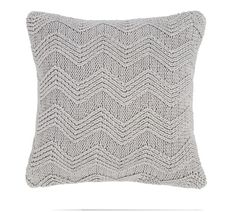 Buy Bianca Cotton Soft Knit Filled Cushion - Grey at Argos.co.uk - Your Online Shop for Cushions, Home furnishings, Home and garden.