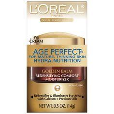 L'Oreal Paris Age Perfect Hydra-Nutrition Golden Balm Eye, 0.5 Fluid Ounce Reviews - http://www.knockoffrate.com/beauty/loreal-paris-age-perfect-hydra-nutrition-golden-balm-eye-0-5-fluid-ounce-reviews/