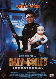 Lat sau san taam (Hard Boiled), 1992 - Spanish poster