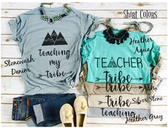 Teacher tribe shirts for next year!