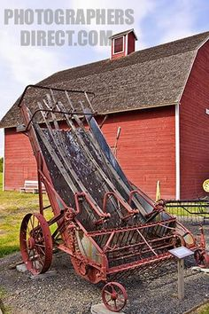 Image of an antique horse drawn Agricultural Implements, Farm Day, Farm Pictures, Old Farm Equipment, Antique Tools, Vintage Farm, Horse Drawn, Cannon, Image Search
