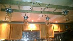 Chicken feeder lights and ladder