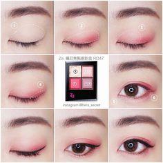 "540 Likes, 7 Comments - Hera's Secret by Hera Wong (@hera_secret) on Instagram: ""Eyes ▫️ @za_taiwan 雙頭眉筆、四色眼影RD47、黑色眼線液、黑色捲翹睫毛膏 ▫️ 隱形眼鏡 @eyesland_lens . 喜歡我的眼妝,請關注 ▶️ #Hera的眼妝九宮格…"""