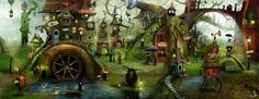 Village of secrets part 2 by AlexanderJansson.deviantart.com on @deviantART