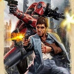 """Stream K Guapo & Mar Savv """"Shoot Sum"""" (Prod By Exclusive Khidd) by Ceo Money🖤💰 from desktop or your mobile device Deadpool Art, Lady Deadpool, Deadpool Stuff, Comic Book Covers, Comic Books, Gangsta's Paradise, Cowboy Pictures, Fandom Crossover, Man Thing Marvel"""