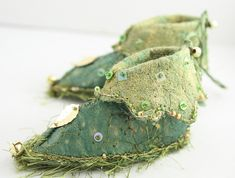 Moss Forest Fairy Outfit for tiny fae feet