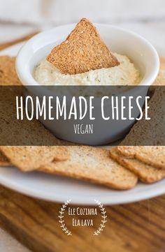"""Um queijo leve, aromático e uma excelente alternativa aos restantes queijos. Cá em casa toda a gente adorou e nem sequer se aperceberam que não era """"queijo""""."""