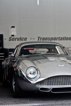 Perfect. Silver grey Aston Martin.