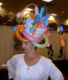 woven balloon hats add whimsy and excitement to your event.