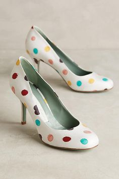 Paola d'Arcano Dotted Pumps