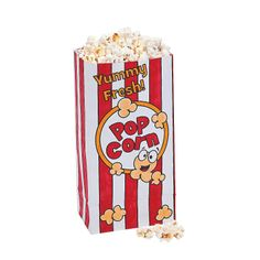 Color Your Own Popcorn Favor Bags - http://www.orientaltrading.com/color-your-own-popcorn-favor-bags-a2-13596635.fltr?prodCatId=551537  OrientalTrading.com