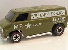 Hot Wheels Redline US Army Van