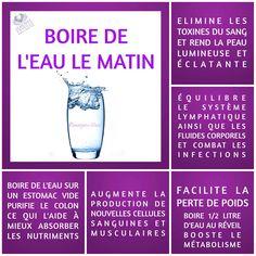 Boire de l'eau le matin | BOIRE DE L'EAU LE MATIN Le Monde s'Eveille Grâce à Nous Tous ♥