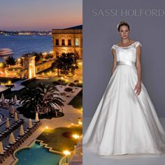 Nothing more luxurious that the Ciragan Palace in Istanbul.  Annabelle by Sassi Holford definitely suits the occasion.