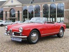 1961 Alfa Romeo Giuletta Spyder