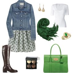 It's all about the green bag!  :)