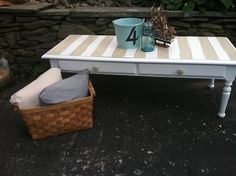 Beachy Coffee Table