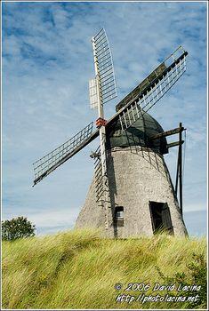 Old Windmill In Skagen - Skagen, Denmark.
