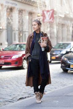 New York street style December 2014 - Vogue Australia
