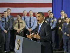 Obama on guns: 'We're not going to wait until the next Newtown' (Photo: Pablo Martinez Monsivais / AP) #NBCPolitics