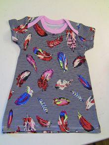 klänning med kuvertringning