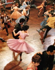 Scene from West Side Story.....Released on October 18, 1961 through United Artists, the film received high praise from critics and the public, and became the second highest grossing film of the year in the United States. The film was nominated for 11 Academy Awards and won 10, including Best Picture, becoming the record holder for the most wins for a movie musical.