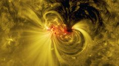 NASA's Solar Dynamics Observatory Watches a Sunspot