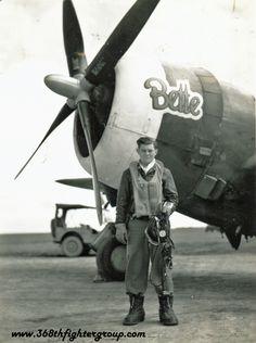 """""""Bette,"""" P-47 """"Thunderbolt"""""""
