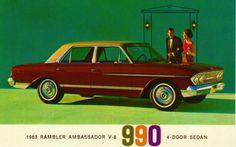 1963 Rambler Ambassador 990 (AMC)