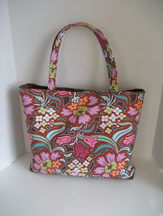 Floral fabric- bag