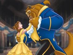 beauty & the beast is my favorite disney movie, so this dancing pic makes sense.