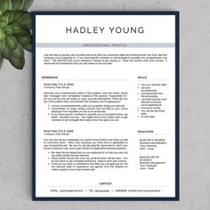 Sale Resume Template With Photo  Cv By Resumetemplaterisdee