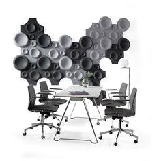 Johanson - Moon #akustik #kontorindretning #kontormøbler #lyddæmpende #virksomhedsindretning.