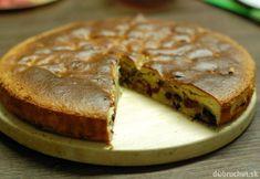 Fotorecept: Špaldový čerešňový koláč s čokoládou Camembert Cheese, Pie, Bread, Sweet, Desserts, Food, Basket, Torte, Candy