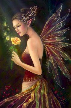 Elf Yellow Rose