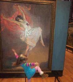 Life imitating art...so cute!