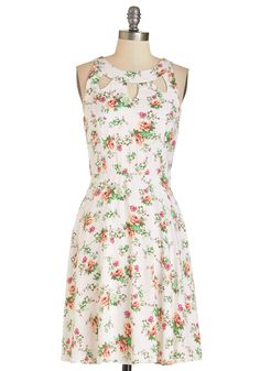 Cutout of This World Dress in Garden
