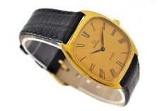 Omega De Ville Cal.625 Gold Plated Midsize Hand Wind Watch SKU: 862
