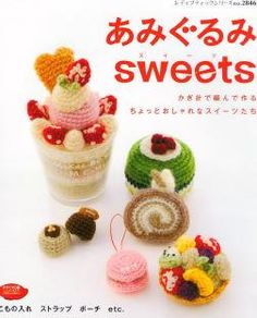 Amigurumi Sweets - PDF Book - Instant download - Amigurumi Tutorials - Crafts…