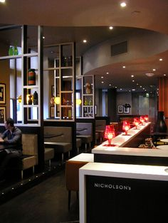 Hilton Hotel, Nicholson's Restaurant Nottingham.